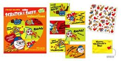 Peaceable Kingdom Crazy Sports Scratch n Sniff Cinnamon - 30 ct by Peaceable Kingdom. $7.91. Make Valentine's Day smell super sweet with these scratch n sniff Valentine packs of 30 cards.
