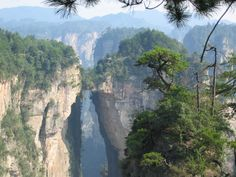 Photos of the Day: Zhangjiajie National Forest Park Zhangjiajie, Tianzi Mountains, Avatar, Sky People, Sword And Sorcery, Forest Park, China Travel, National Geographic Photos, National Forest