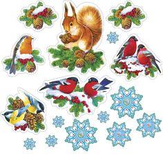 "Photo from album ""Новогодние иллюстрации"" on Yandex. Christmas Stickers Printable, Christmas Labels, Christmas Scrapbook, Printable Stickers, Christmas Printables, Planner Stickers, Christmas Topper, Christmas Decoupage, Christmas Doodles"