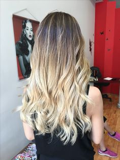 #balayage #balayageexpert #hairstyle  #haircolor #waves #ilovemyjob #welovehair #mustdo #summerhair #light #amazing #happy