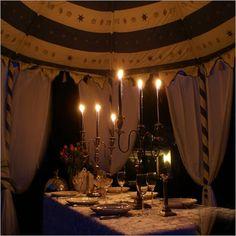 Romantic Tent Camping Ideas