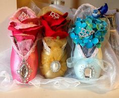 Princess Coutures  Disney Inspired Decorated by FantaisieDesigns, $70.00