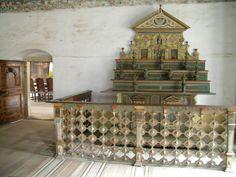 Renesanční sekretář na zámku ve Velkých Losinách