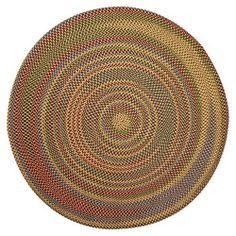 Jefferson Indoor/ Outdoor Braided Rug (6' Round)