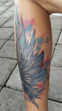 #tattoo #splash #watercolor