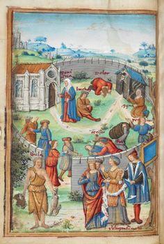 filippo alberici tabula cebetis dedicated to king henry vii of england 1507