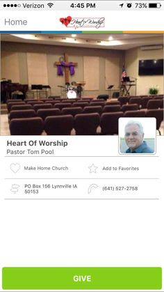 Heart of Worship in Lynnville, Iowa #GivelifyChurches