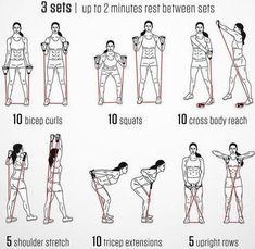 resistance band exercises for men,resistance bands exercises for beginners,resis. - Exercices de fitness - resistance band exercises for men,resistance bands exercises for beginners,resistance tube exercise - Fitness Workouts, Fun Fitness, Workout Hiit, Senior Fitness, Ab Workout At Home, Group Fitness, At Home Workouts, Fitness Band, Physical Fitness