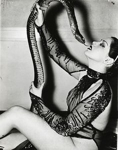 Burlesque dancer, Zorita c. 1938