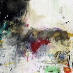 Contemporary abstract art giclee print by Michel Keck
