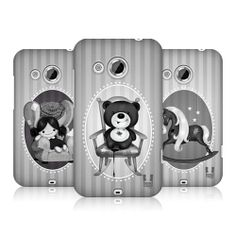 HEAD CASE DESIGNS PLAYTIME NIGHTMARE SNAP-ON BACK CASE COVER FOR HTC DESIRE 200
