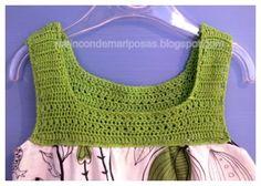 #summer #crochet #dress for the little ones!