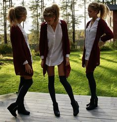 Adore!  For me, over the knee socks will never go out of fashion