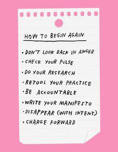 How To Begin Again | Design*Sponge | Bloglovin'
