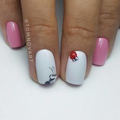 Expand style to your nails with the help of nail art designs. Donned by fashion-forward stars, these kinds of nail designs will incorporate immediate elegance to your outfit. 3d Nails, Manicure And Pedicure, Cute Nails, Pretty Nails, Nail Nail, Music Nails, Coffin Nails, Nail Polish, Spring Nails
