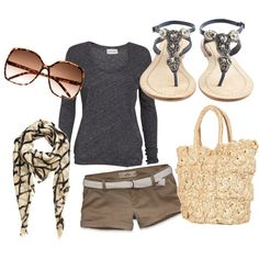 going to the fair, created by casey-bizich on Polyvore
