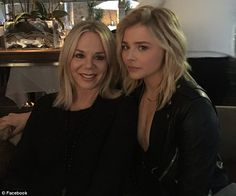 Chloe's mother Teri Duke-Moretz (pictured with Chloe in January) was dragged through the c...