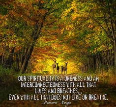 Mudrooroo - Our spirituality is a oneness and an interconnectedness with all that lives and breathes, even with all that does not live or breathe.