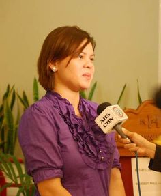 Sara Duterte-Carpio, daughter of Philippines President Rodrigo Duterte and mayor…