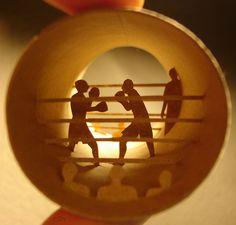 Tube de boxe. Parfum de victoire