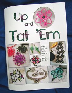 Tatting book Up and Tat 'Em by yarnplayer on Etsy