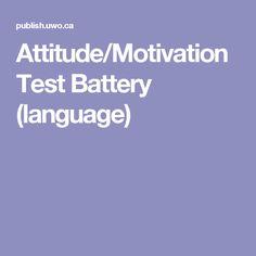 Attitude/Motivation Test Battery (language)