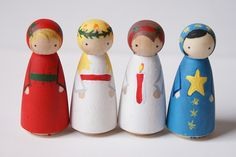 Santa Lucia doll by baby Robots