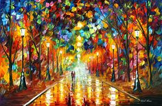 Special Wall Art - Painting - Farewell To Anger by Leonid Afremov