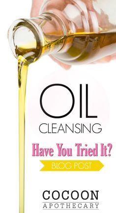Oil cleansing: Have you tried it? Face Skin Care, Diy Skin Care, Skin Care Tips, Benefits Of Coconut Oil, Oil Benefits, All Natural Skin Care, Natural Beauty, Acne Oil, Oil Shop