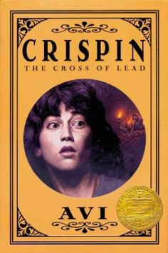 2003 - Crispin: The Cross of Lead by Avi - Falsely accused of theft and murder, an orphaned peasant boy in fourteenth-century England flees his village and meets a larger-than-life juggler who holds a dangerous secret.