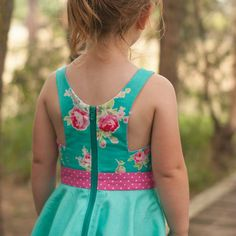 Best 12 The Holly dress PDF pattern Features a fitted bodice and a gathered skirt or a circle skirt//Bubby and Me Creations Toddler Summer Dresses, Toddler Skirt, Little Girl Dresses, Girls Dresses, Skirts For Kids, Girl Dress Patterns, Kids Frocks, Sewing Clothes, Baby Dress