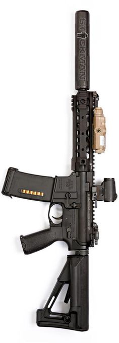 Suppressed BCM setup by Stickman. - http://www.RGrips.com