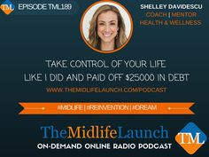 """Shelley Davidescu shares how she """"fired"""" her boss and paid off a $25000 debt."""