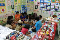 """""""Fun Workshop with coloring and clay provided by Atelier MoMo"""" @ Tohoku Fukko Festival 2013 in Rikuzentakata"""