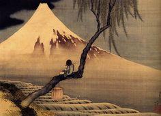 Ο Hokusai: Mount Fuji (from the L'escargot mont Mont Fuji lentement, lentement Freer Gallery, Art Gallery, Monte Fuji, Art Chinois, Art Asiatique, Katsushika Hokusai, Art Japonais, Japanese Painting, Chinese Painting