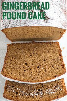 This gingerbread pound cake has the texture of a classic pound cake with all of the molasses and spice flavors of a traditional gingerbread. #kingarthurflour | http://www.browneyedbaker.com/gingerbread-pound-cake/