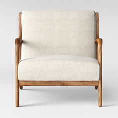 Esters Wood Arm Chair Husk - Project 62™ at Target. Affiliate link.