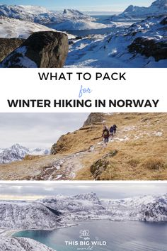 Prepared Girl's are cool, confident and ready for any adventure. Find out what to pack for winter hiking in Norway and what to leave behind, without breaking your budget! Camping Checklist, Camping Essentials, Camping Hacks, Kids Checklist, Camping Supplies, Hiking Norway, Norway Travel, Hiking Europe, Hiking Gear