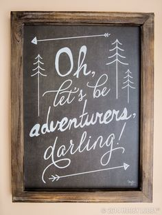 """""""Oh, let's be adventurers, darling!"""""""