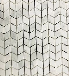 NC230700 - Carrara Marble Honed Chevron Chevron Tile, Carrara Marble, Tiles, Living Room, Pattern, Room Tiles, Tile, Sitting Rooms, Patterns