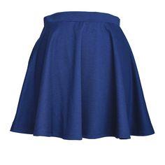 **New**  JC Womens Mini Above Knee Flare Pleated Skirt  New Color- Navy   #Flareskirt #Miniskirt #New  #Navy #ootd