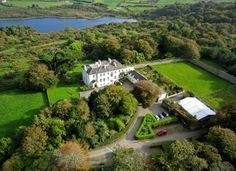 Groupon - West Cork: 1 or 2 Nights For Two With Breakfast and Leisure Access at Liss Ard Estate in Skibbereen. Lakeside Restaurant, Hotel Breaks, Hotel Sites, Ireland Hotels, House Worth, West Cork, County Cork, Hotel Reviews, Aerial View