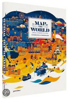 A Map of the World, Antonis Antoniou      Engels     224 pagina's     Die Gestalten Verlag     februari 2013