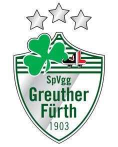 Greuther Fürth Bundesliga Logo, Fifa, German Football Clubs, Sports Clubs, Sports Logos, Crests, Sports Illustrated, Team Logo, Germany