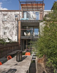 Red Hook Brooklyn -- Row House Gut Renovation