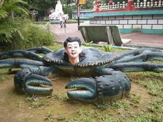 Haw Par Villa in #Singapore - #TravelTips #TravelPics