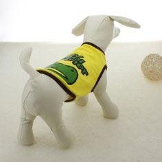Summer Frog Design cotton Pet  Dog T-shirt