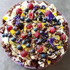 Bruisende Bastogne Bolide - Oh My Pie! Sweet Recipes, Cake Recipes, Dessert Recipes, Birthday Snacks, Seafood Diet, Healthy Recepies, My Pie, Vegan Pie, Good Food
