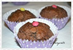 ♥ Muffins al cioccolato fondente e arancia ♥