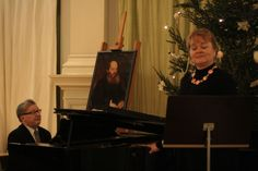 Singing Rachmaninov and Tsaikovsky to the texts of the great Russian poet Afanasy Fet in Helsinki City Hall on the 190th anniversary of Fet.